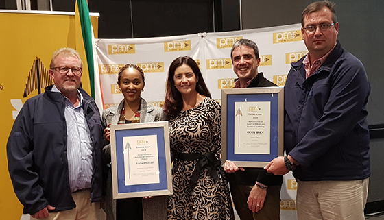 Rocla excels at PMR.africa awards